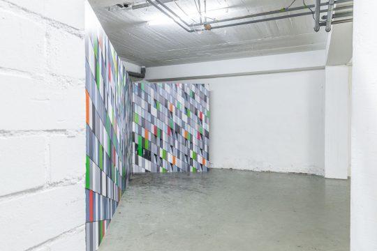 Tobias Grewe: Ausstellung Gegen den Raum 2018